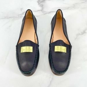 Kate Spade Corrie Loafers Shoes Black Leather NEW
